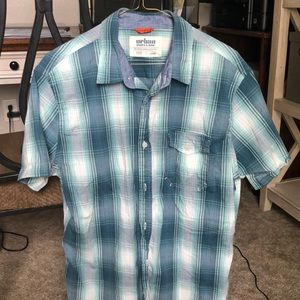 Boys large button down shirt. Worn once.